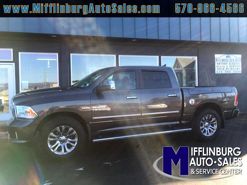 "2014 RAM 1500 4WD Crew Cab 140.5"" Limited"