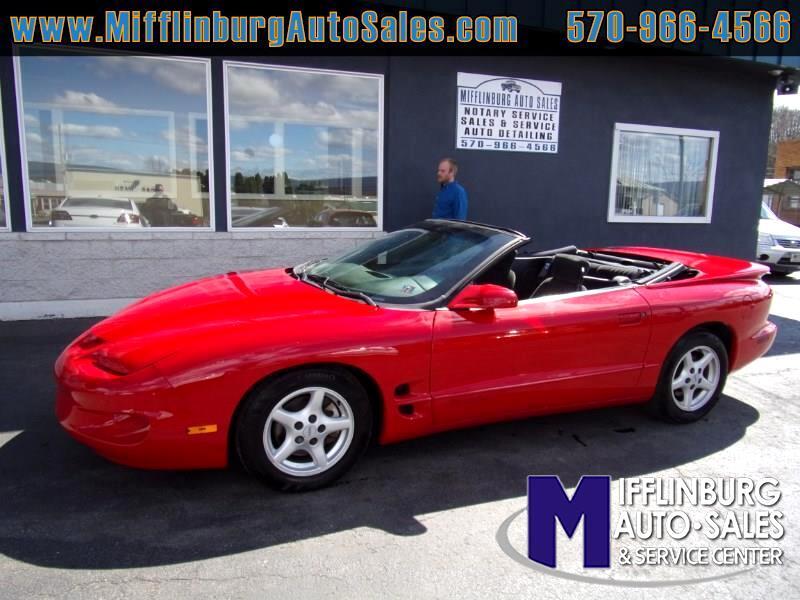 2002 Pontiac Firebird Convertible