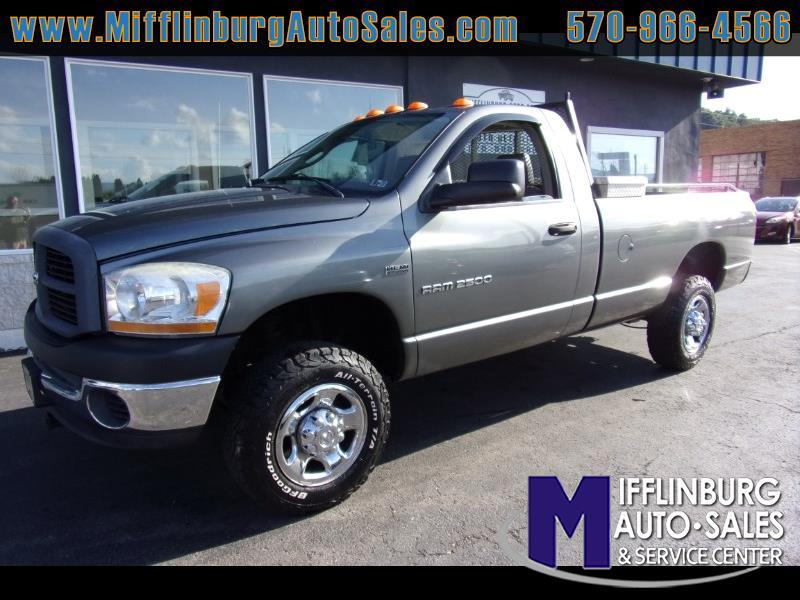 2006 Dodge Ram 2500 Reg. Cab 8-ft. Bed 4WD