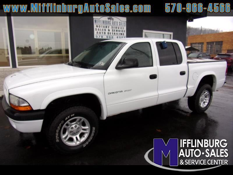 Dodge Dakota Sport Quad Cab 4WD 2002