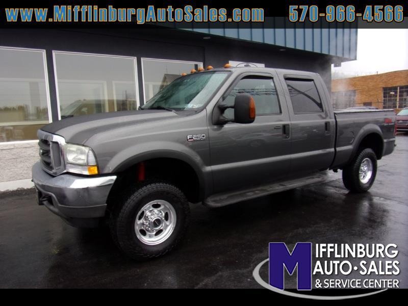 Ford F-250 SD Lariat Crew Cab Short Bed 4WD 2004