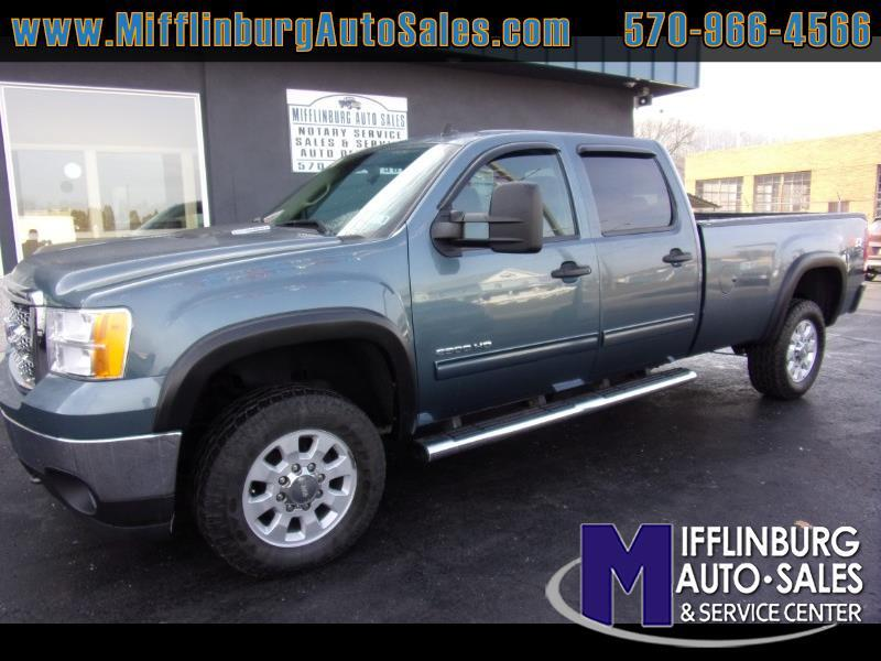 GMC Sierra 2500HD SLE Crew Cab Long Box 4WD 2013