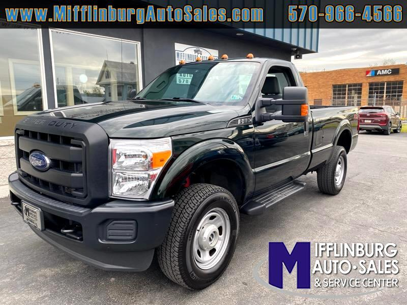 Ford F-350 SD XL SuperCab Long Bed 4WD 2016
