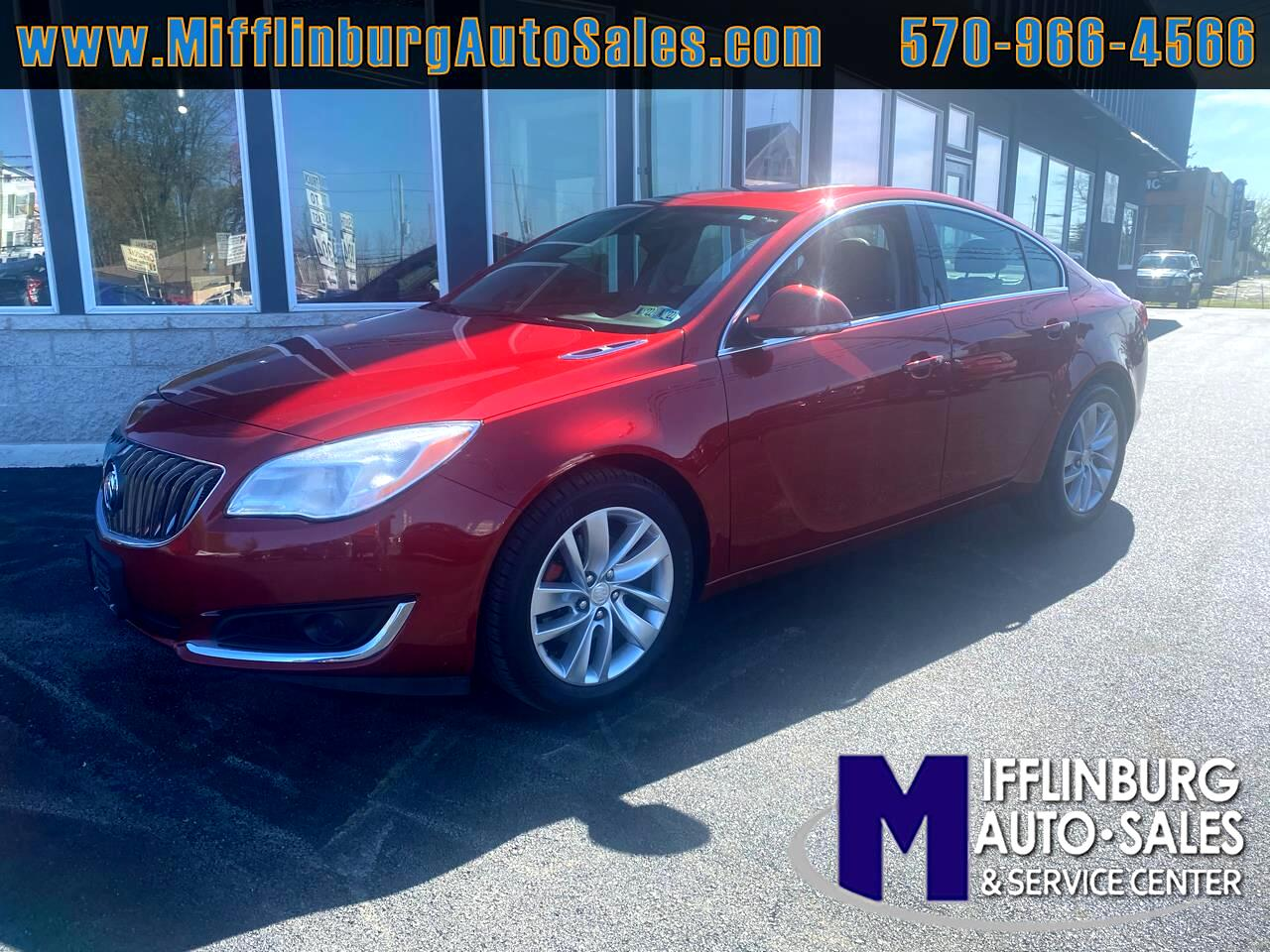 Buick Regal 4dr Sdn FWD 2014