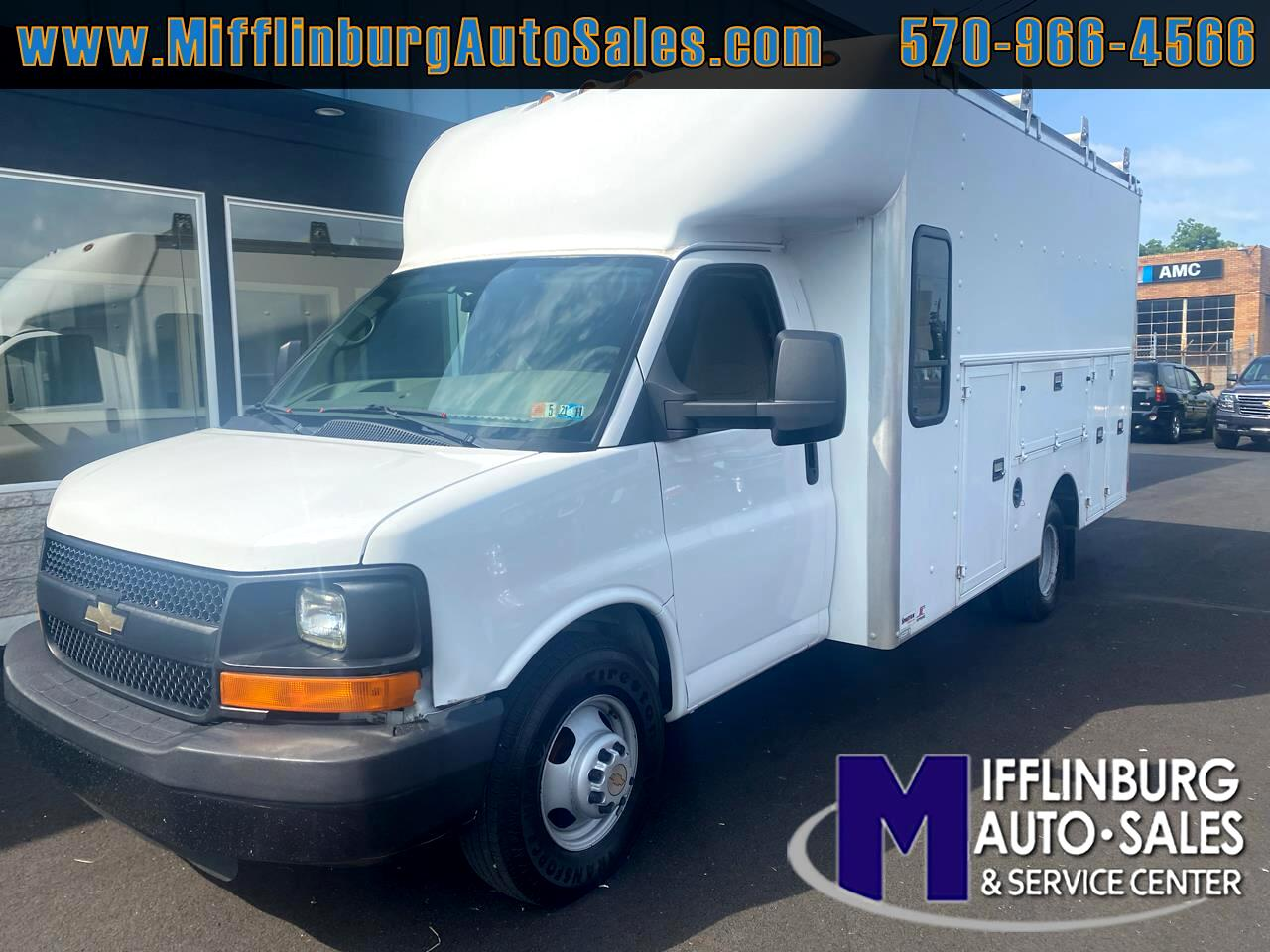 "Chevrolet Express Commercial Cutaway RWD 3500 159"" WB Work Van 2012"