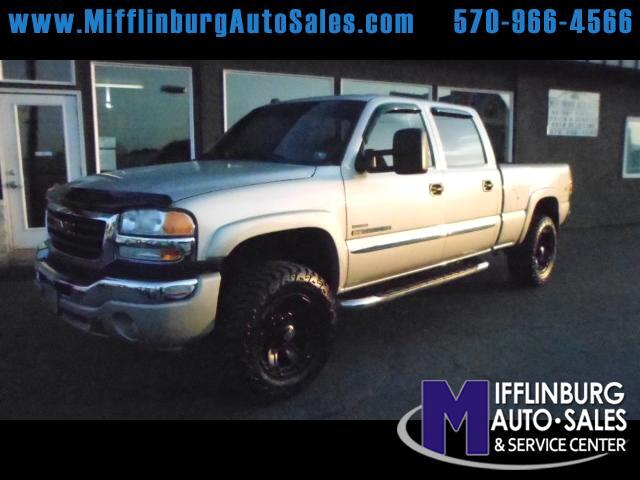 2005 GMC Sierra 2500HD SLE Crew Cab Short Bed 4WD