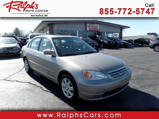 2003 Honda Civic EX Sedan 5-Speed MT