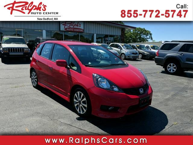 2013 Honda Fit 5dr HB Man Sport
