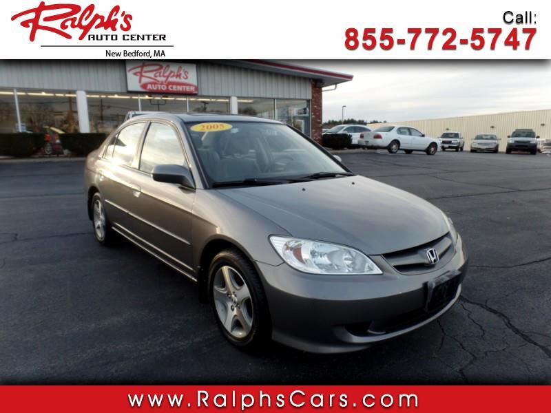 2005 Honda Civic EX sedan AT