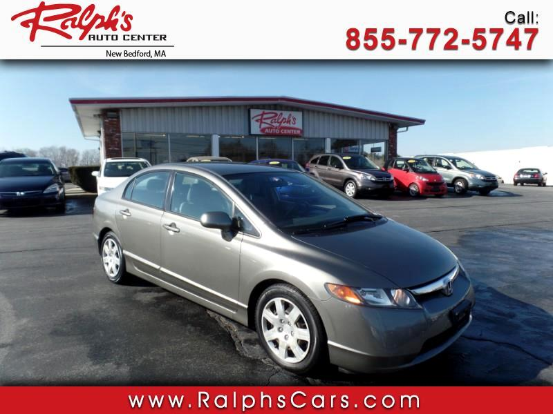 2007 Honda Civic LX Sedan 5-Speed MT