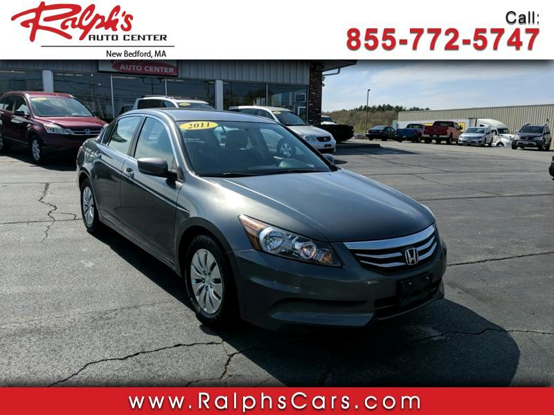 2011 Honda Accord 4dr Sedan LX Auto