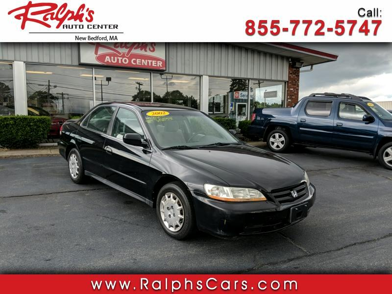 2002 Honda Accord LX sedan