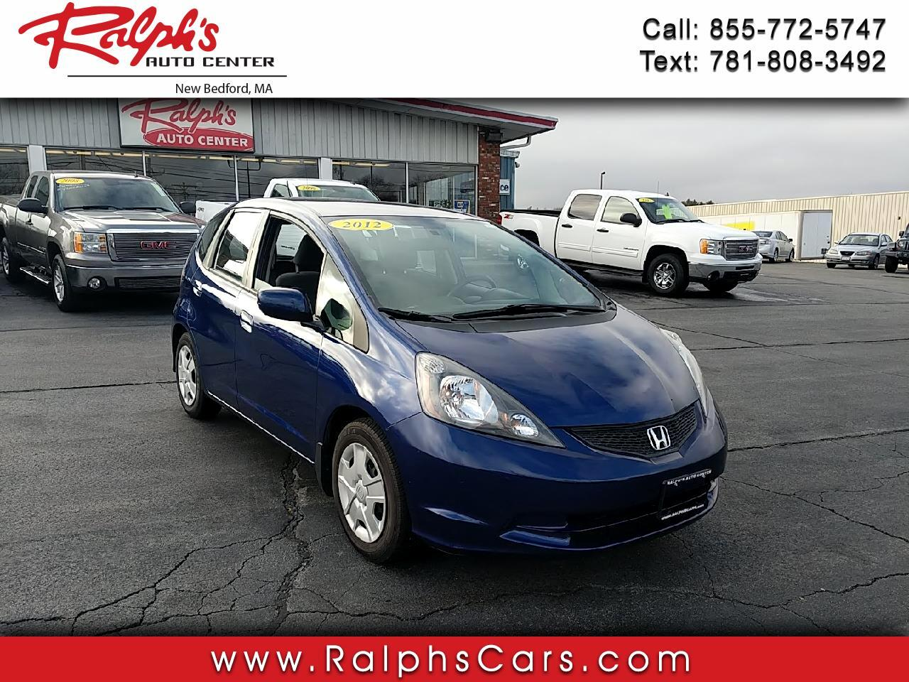 Honda Fit 5dr HB Man 2012