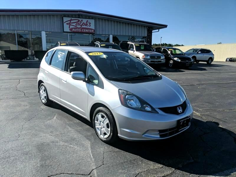 2013 Honda Fit 5-Speed MT