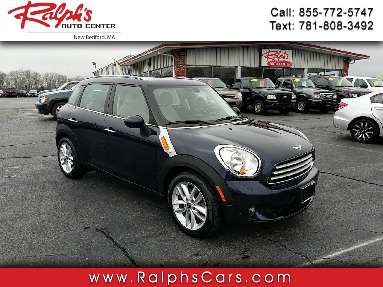 MINI Cooper Countryman FWD 4dr 2012