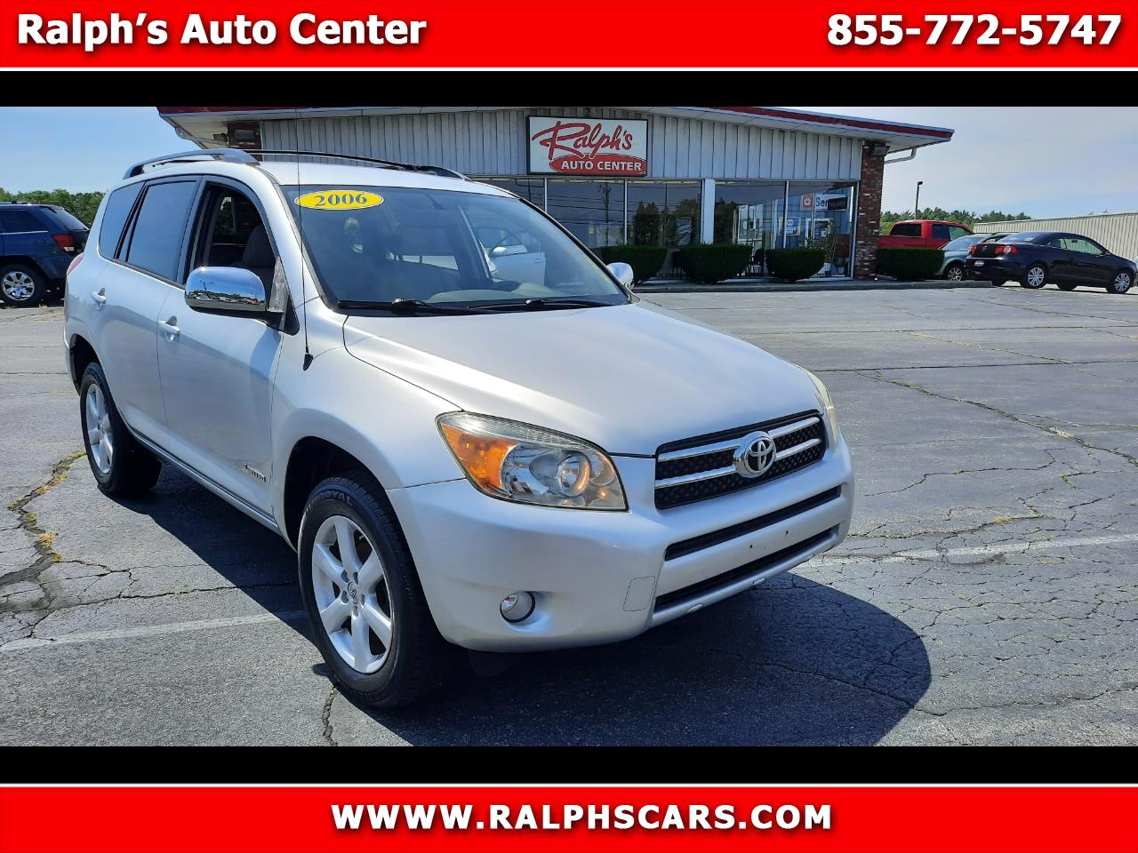 Toyota RAV4 4dr Limited 4-cyl 4WD (Natl) 2006