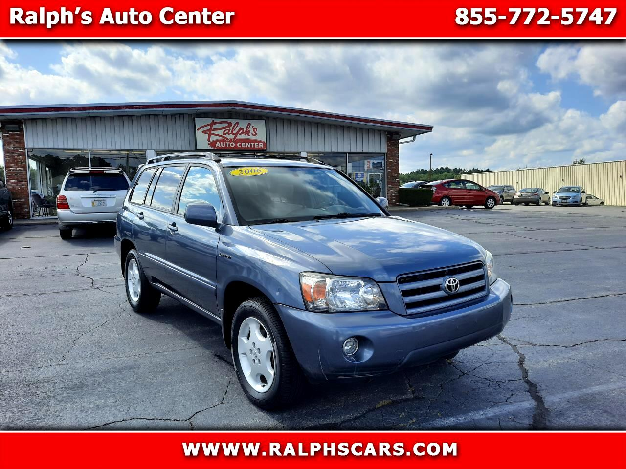 Toyota Highlander 4WD 4dr V6  Limited (Natl) 2006