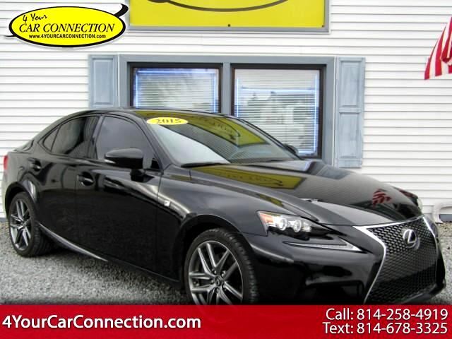 2015 Lexus IS 350 F Sport AWD NAV