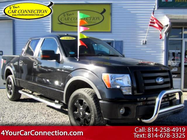 2010 Ford F-150 FX4 SuperCrew 4WD TV-DVD