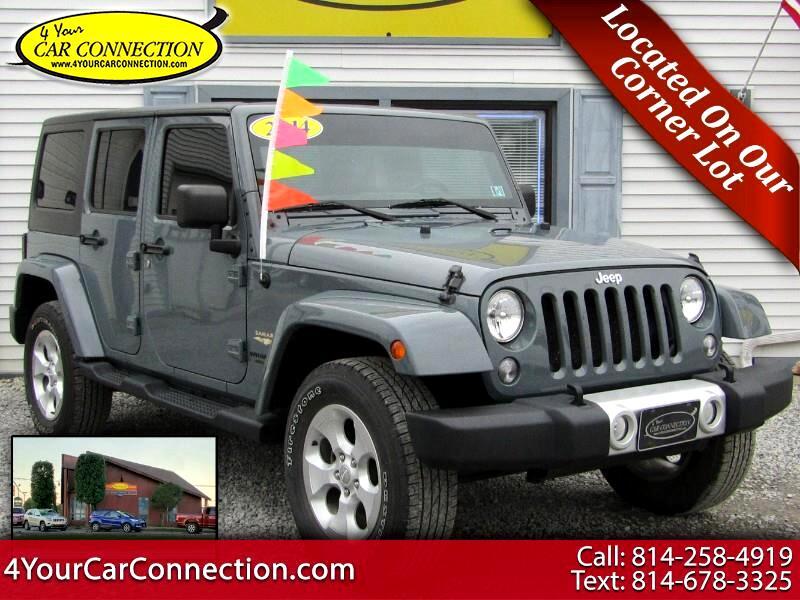 2014 Jeep Wrangler Unlimited Sahara 4WD NAV