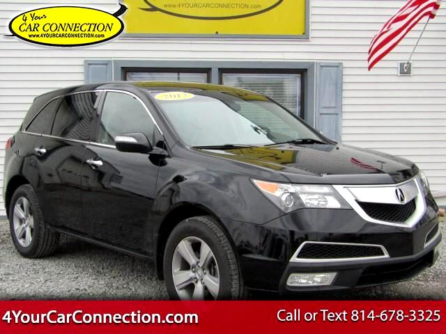 2012 Acura MDX Technology Package SH-AWD NAV