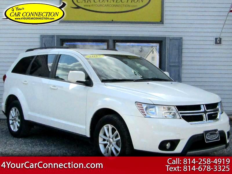 2017 Dodge Journey SXT 7 Passenger