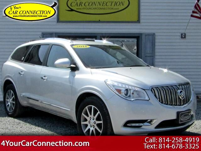 2014 Buick Enclave Leather AWD 7 Passenger TV-DVD-NAV