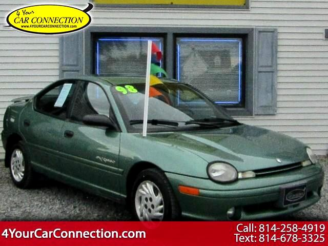 1998 Plymouth Neon Expresso