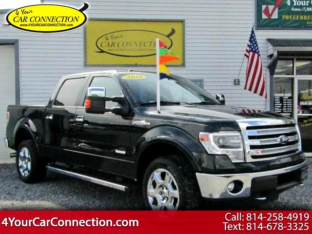 2014 Ford F-150 Lariat SuperCrew 4WD NAV