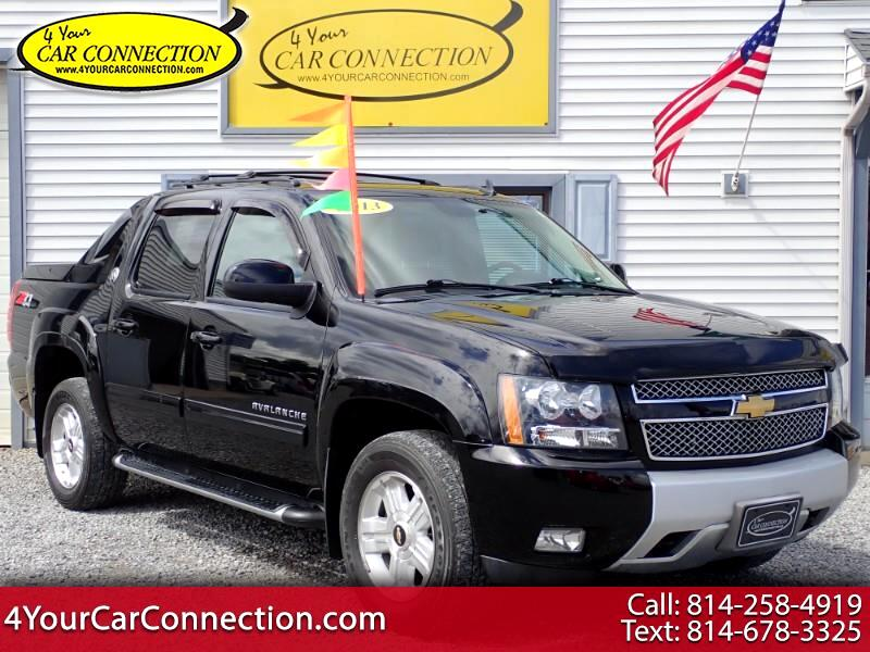 2013 Chevrolet Avalanche Black Diamond Z71 4WD TV-DVD