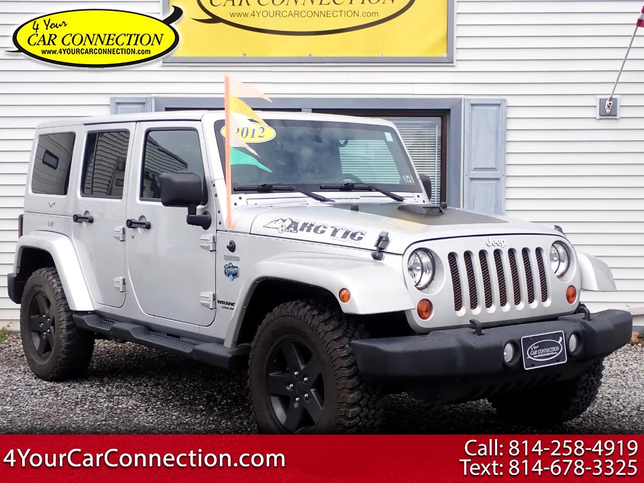 2012 Jeep Wrangler Unlimited Sahara Arctic Edition 4WD