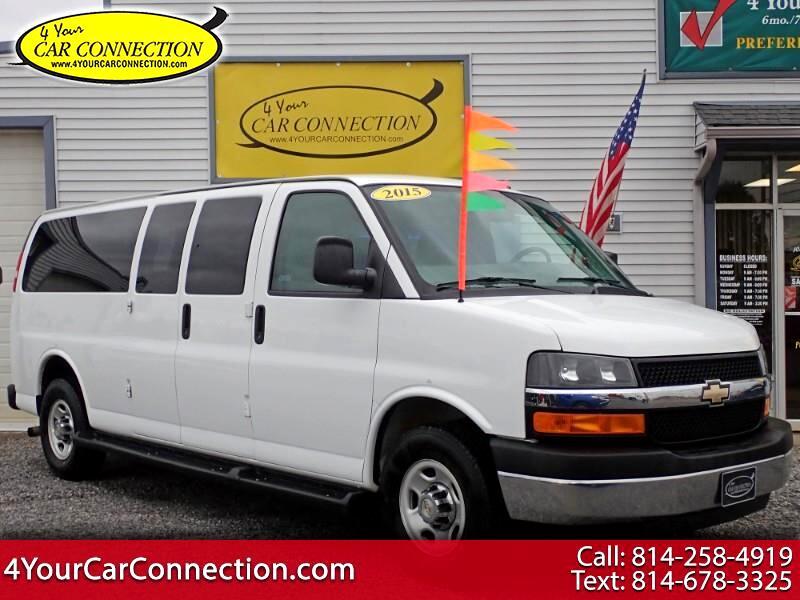 2015 Chevrolet Express LT 3500 Extended 13 Passenger