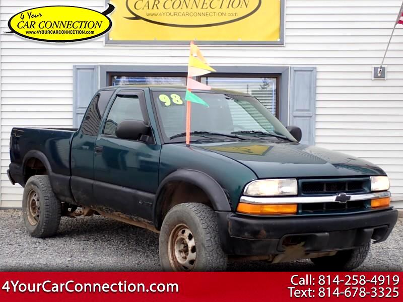 1998 Chevrolet S10 Pickup Ext Cab 123