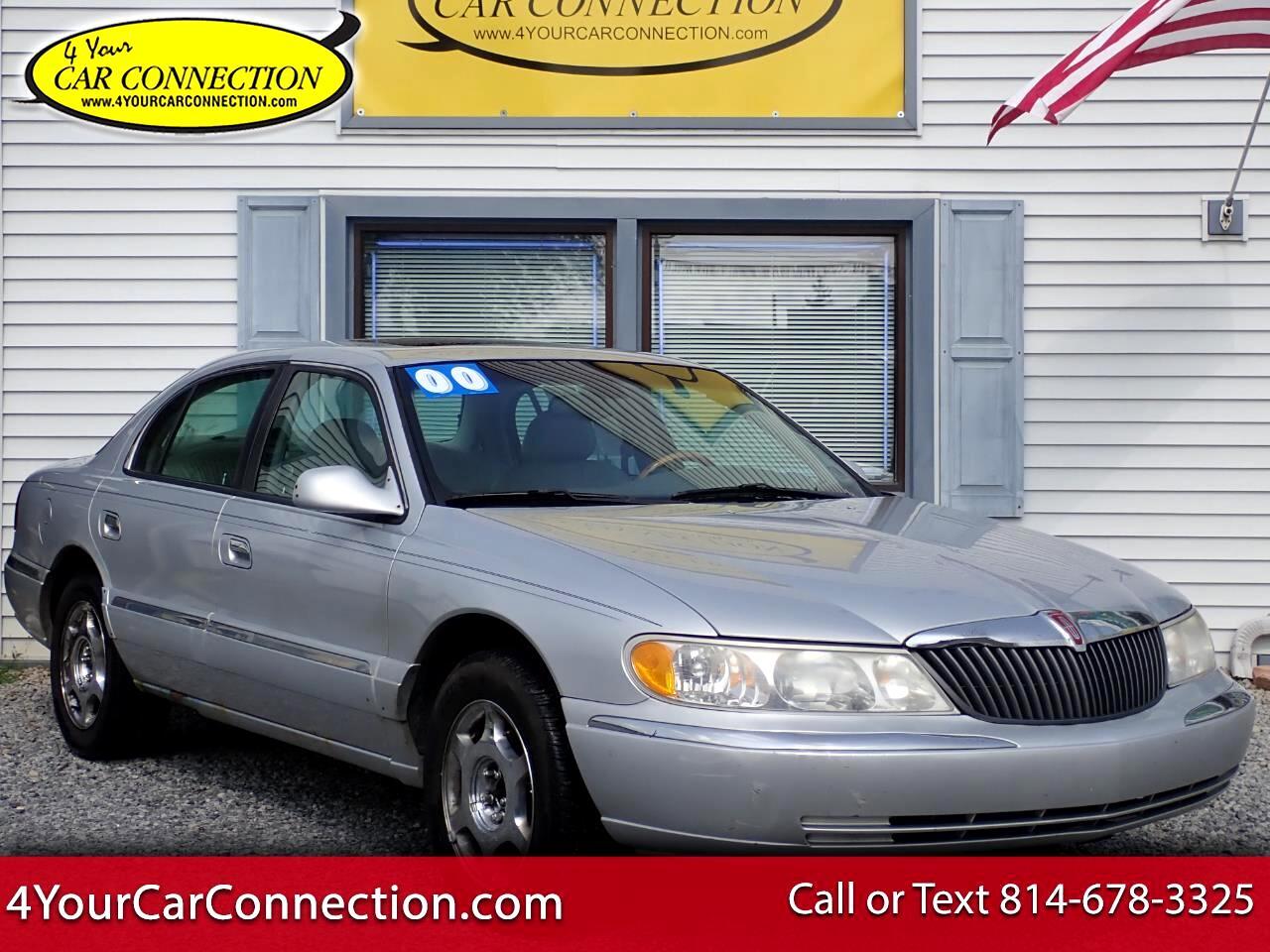Lincoln Continental  2000