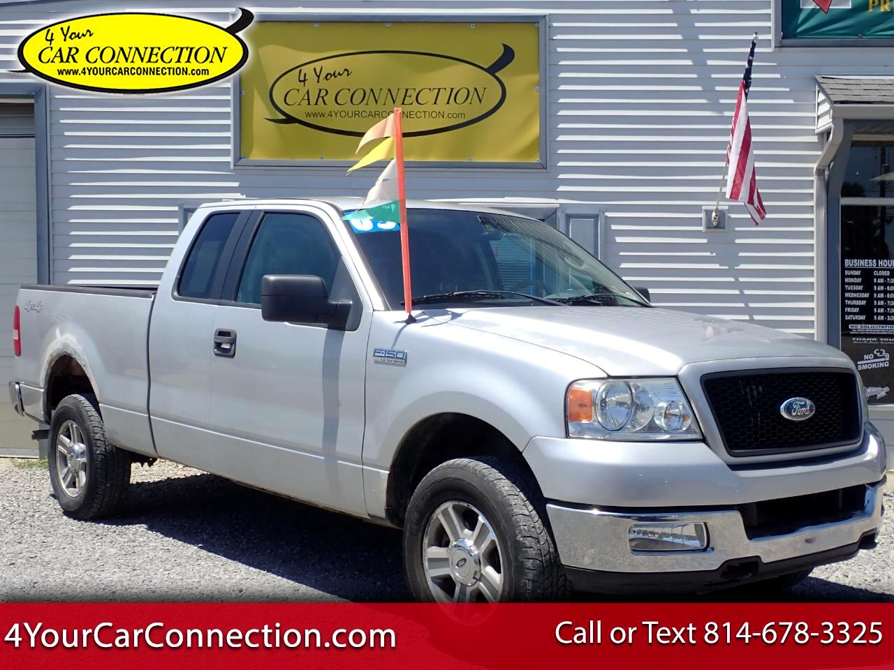 Used 2005 Ford F 150 Xlt Triton Supercab 4wd For Sale In