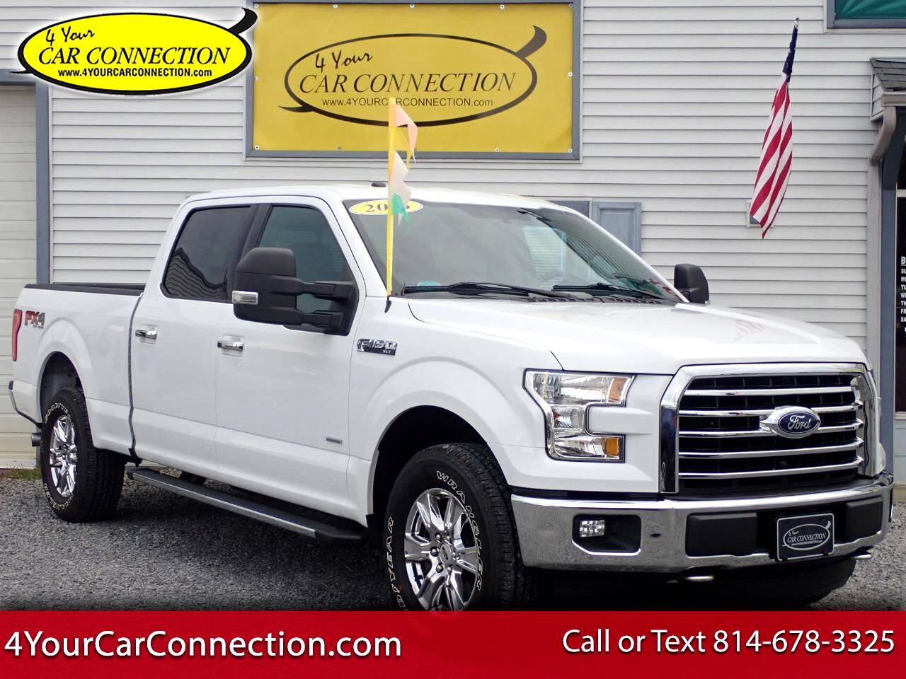 2016 Ford F-150 XLT FX4 SuperCrew 4WD NAV