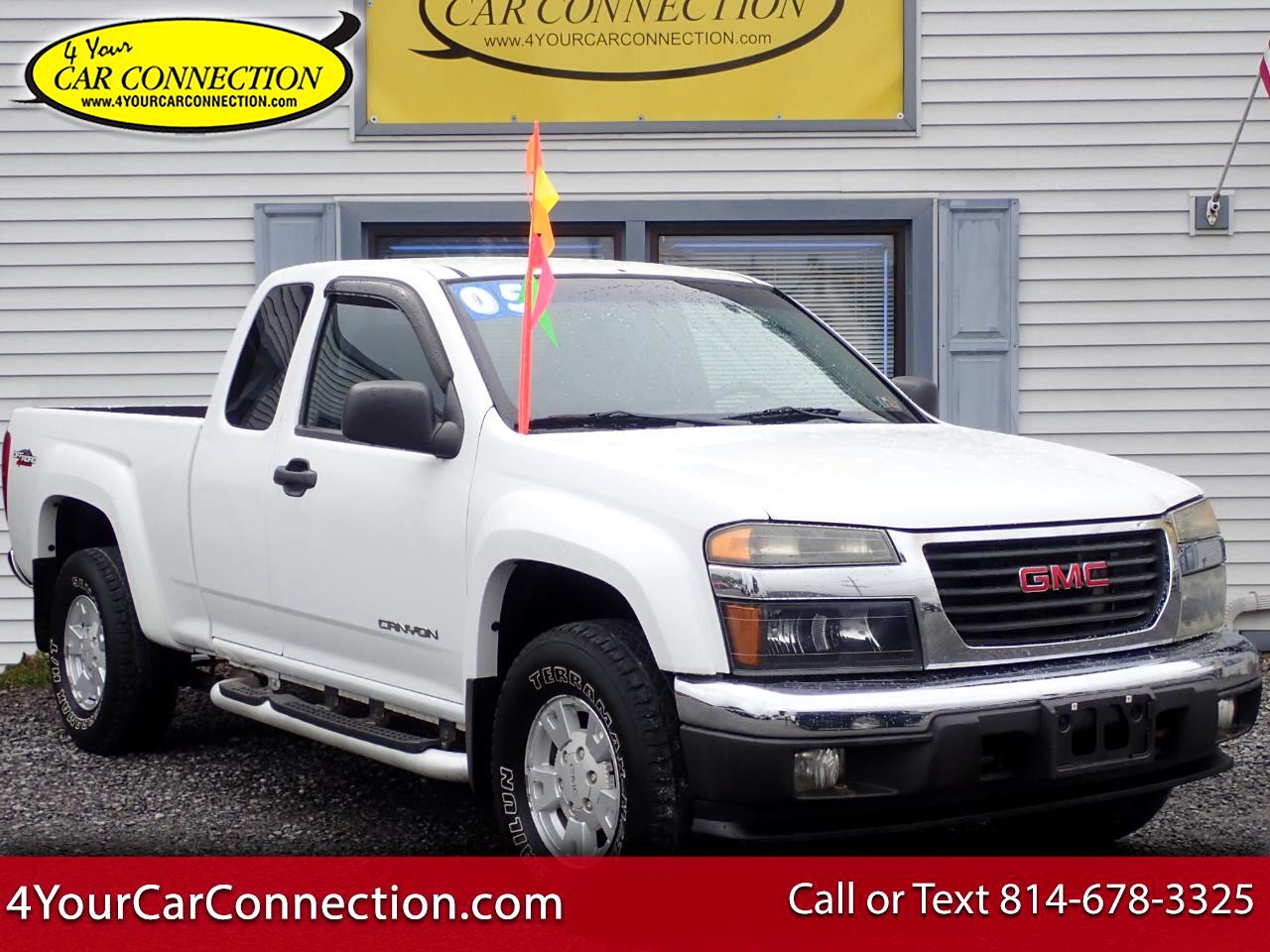 2005 GMC Canyon SLE Z71 Ext Cab 4WD