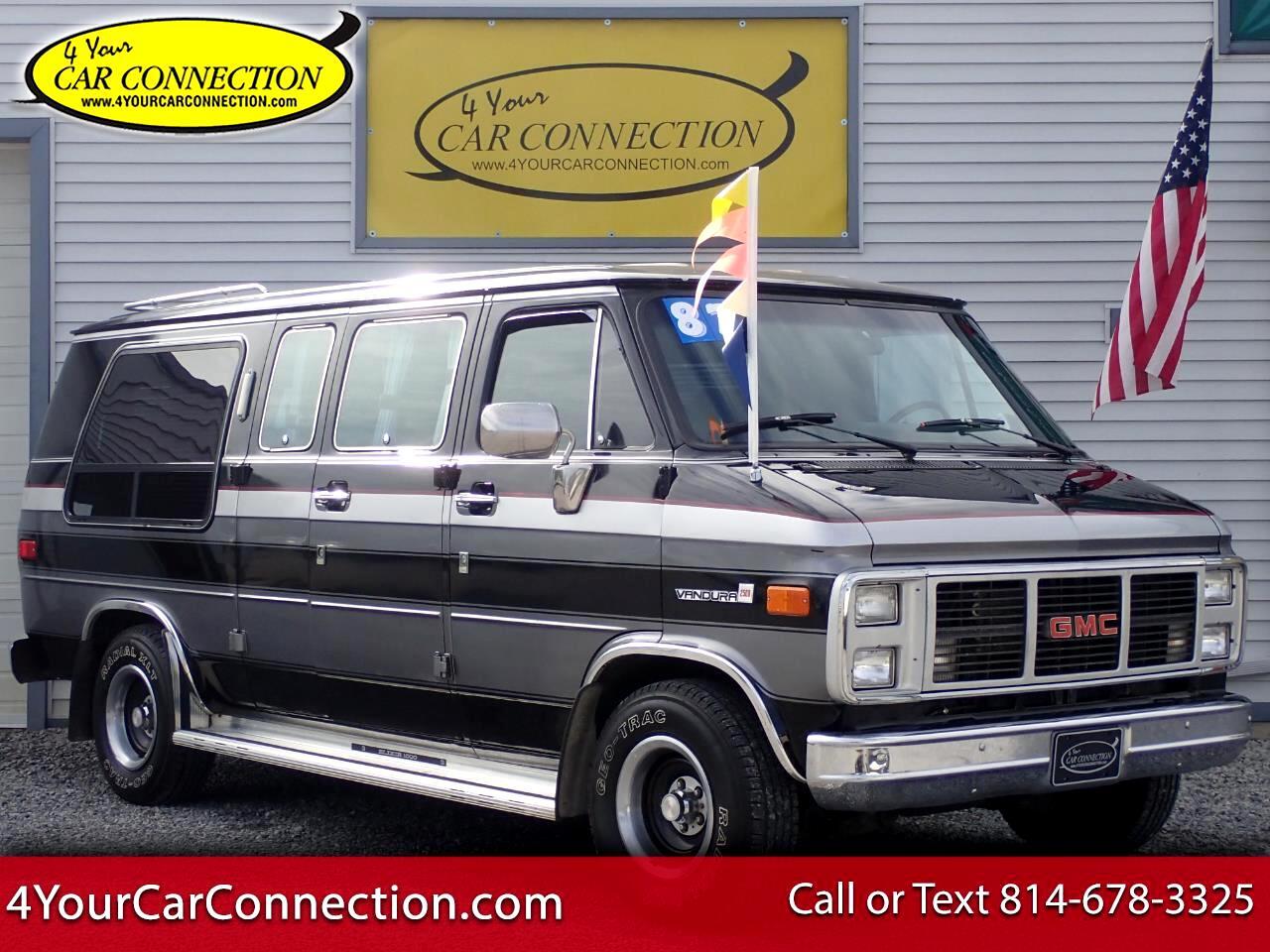 1987 GMC Vandura 2500 7 Passenger