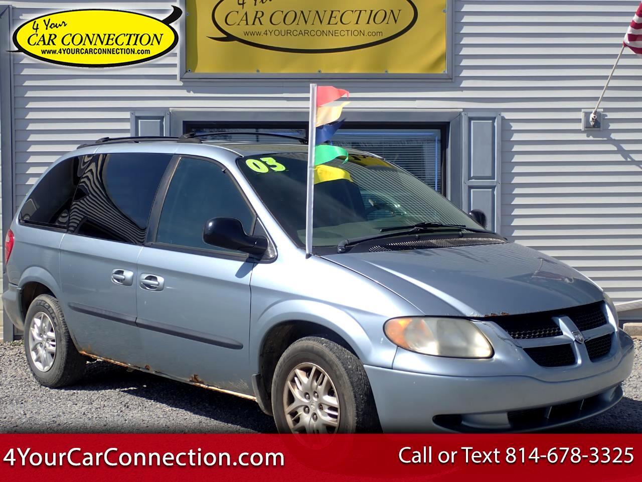 2003 Dodge Caravan Sport 7 Passenger
