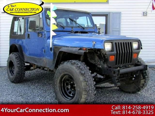 Buy Here Pay Here 1993 Jeep Wrangler For Sale In Cranberry Pa 16319
