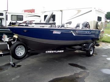 2017 Crestliner 1600 Fish Hawk