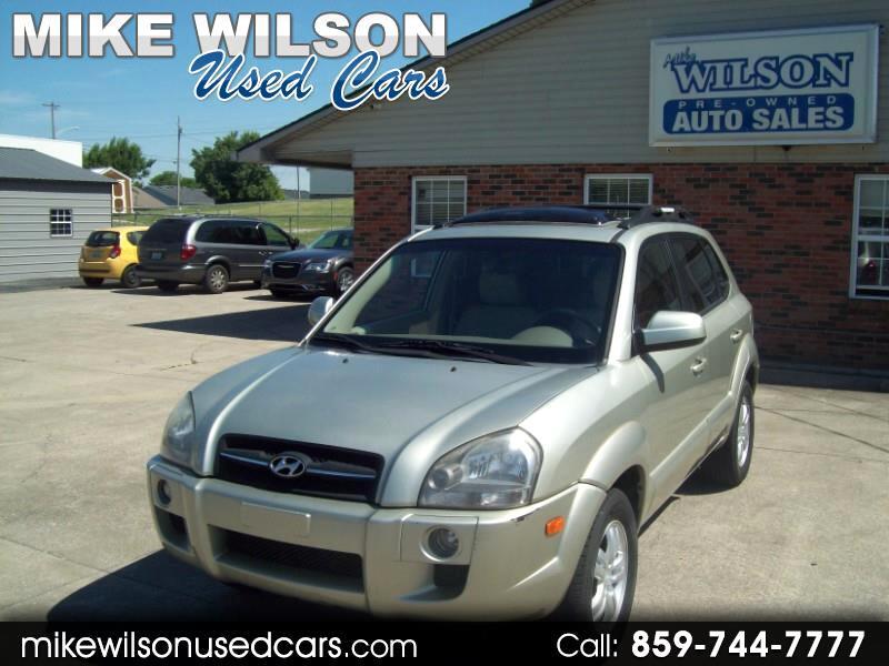 Hyundai Tucson Limited 2.7 4WD 2007