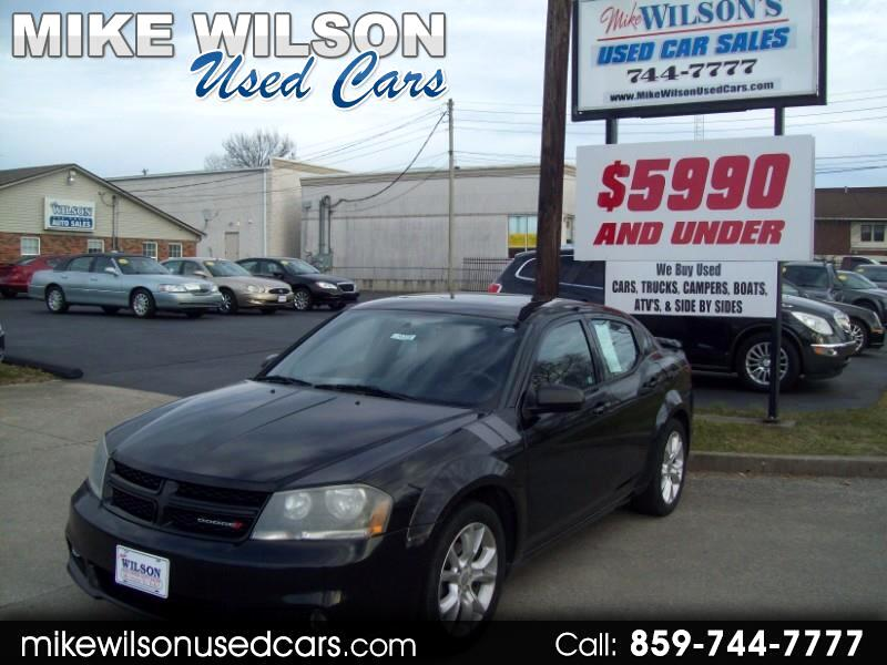 Used 2012 Dodge Avenger R T For Sale In Winchester Ky 40391 Mike Wilson Used Cars