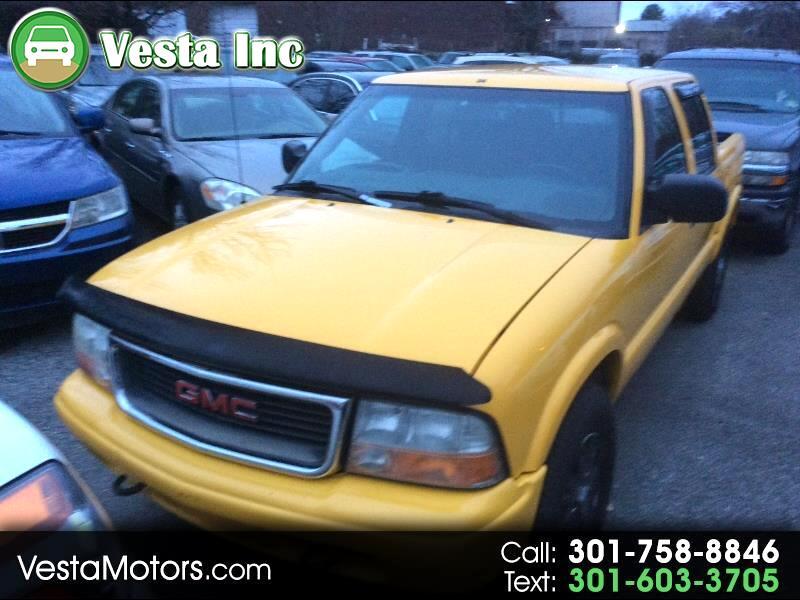 2004 GMC Sonoma SLS Crew Cab 4WD