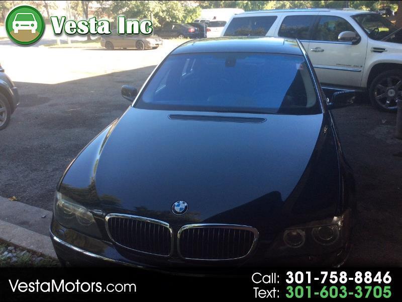 BMW 7-Series 750Li 2008