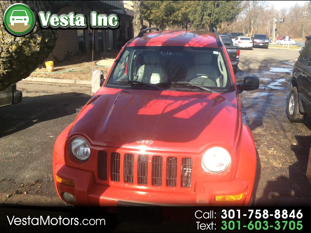 2003 Jeep Liberty Limited 2WD