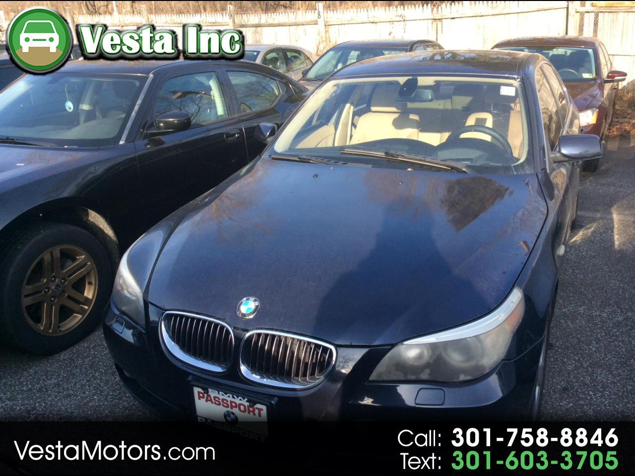 BMW 5-Series 525xi 2007
