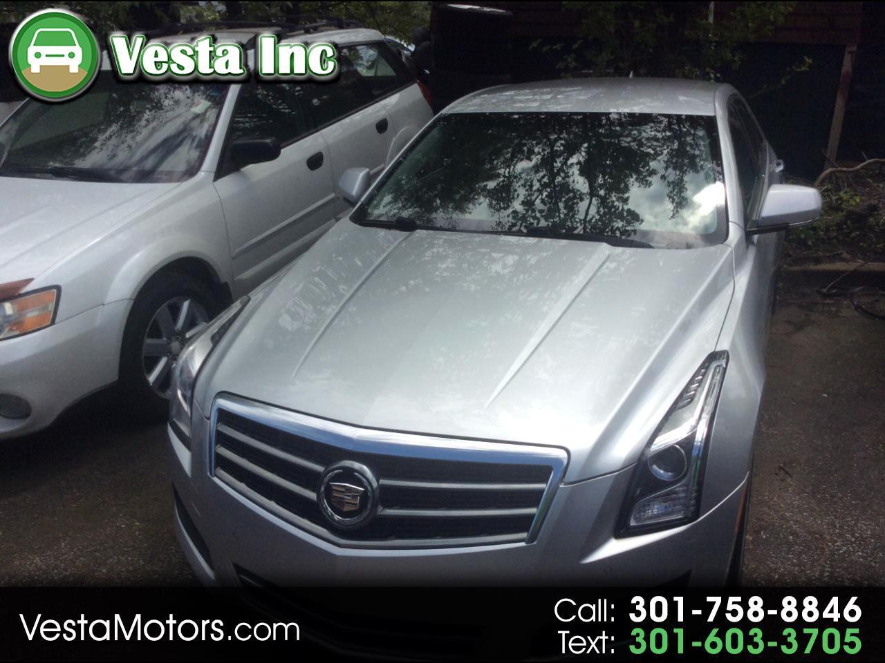 Cadillac ATS 2.5L Luxury RWD 2014