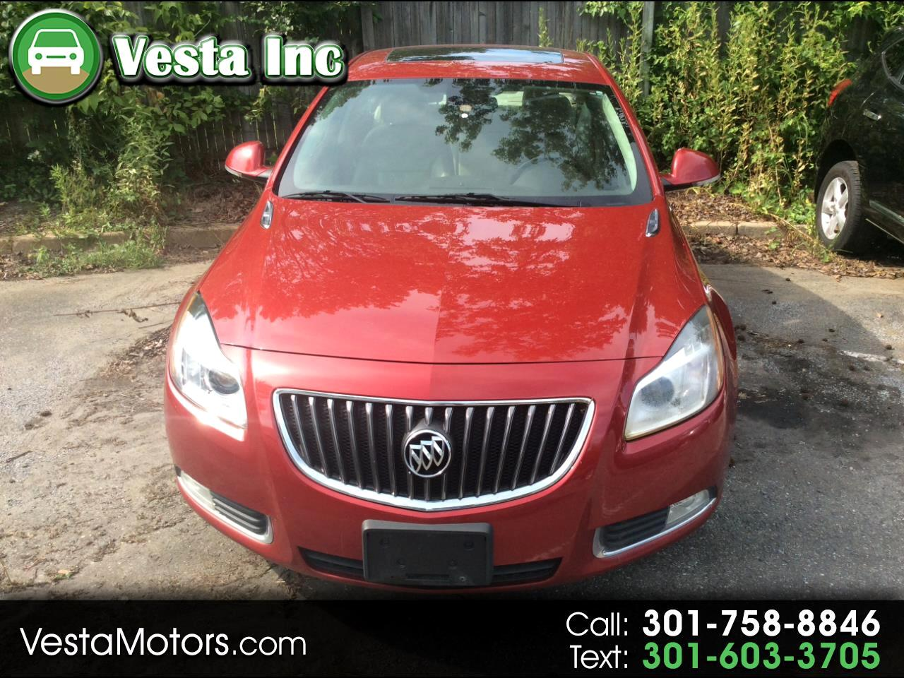 Buick Regal 4dr Sdn Turbo Premium 2 2012