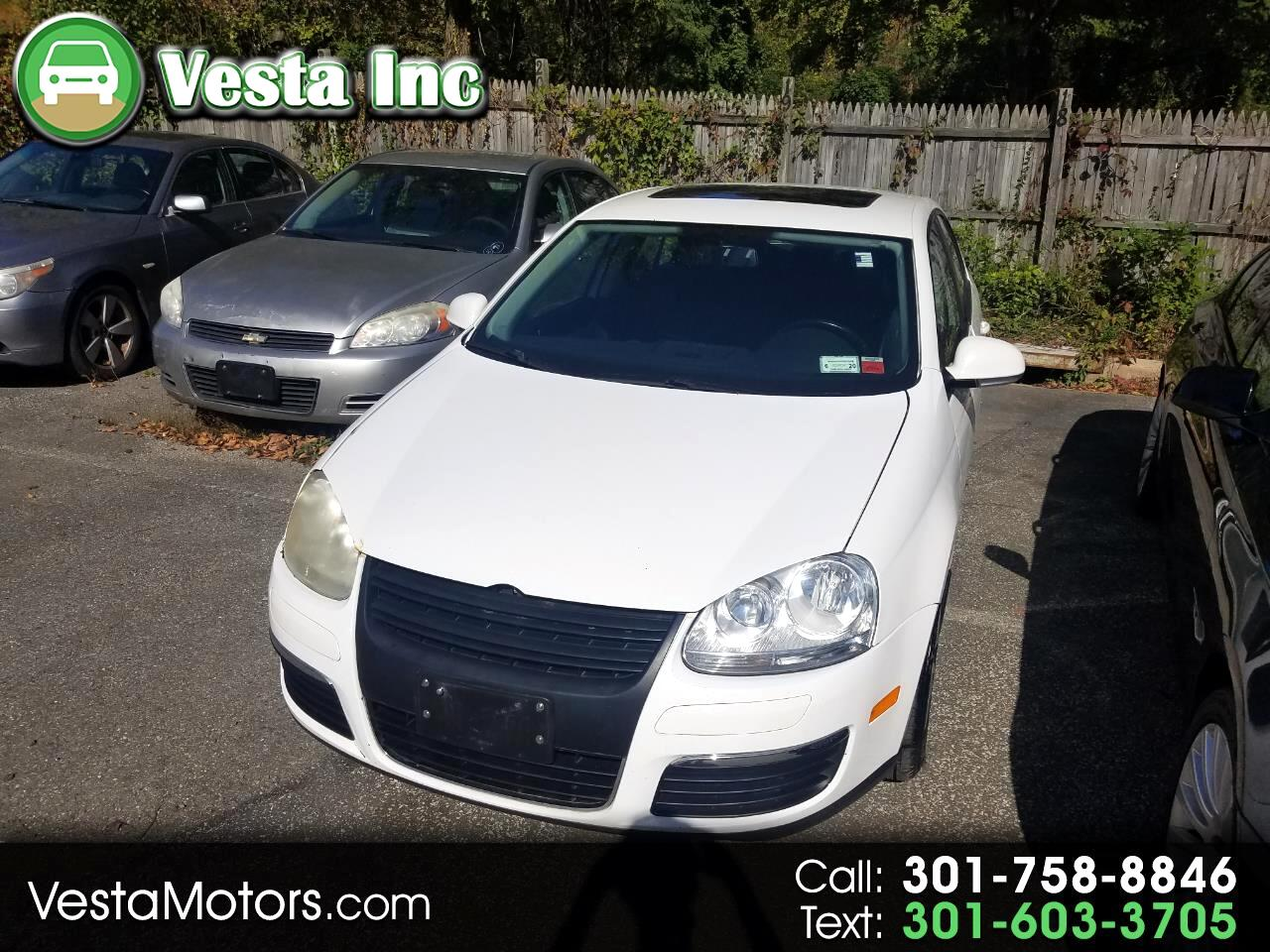 Volkswagen Jetta Sedan 4dr Manual Limited PZEV 2010